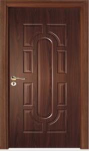 درب چوبی اتاق خواب